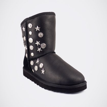 Угги UGG Jimmy Choo Starlit Metallic Black