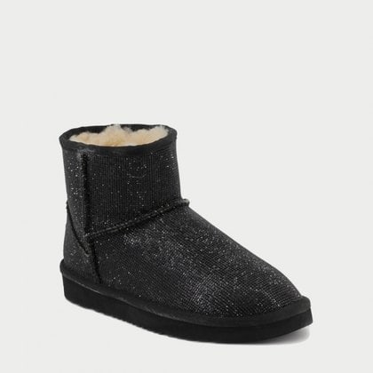 Угги UGG Jimmy Choo Mini Serein II Black